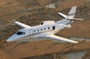 Privatjet Cessna Citation XLS im Reiseflug