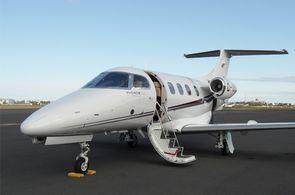 Der Privatjet Embraer Phenom ist optimal für innerueopäische Flüge