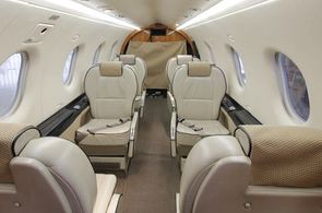 Privatjet Langstreckenflug