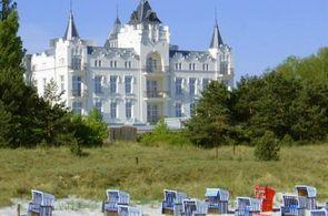 Blick auf das Hotel Usedom Palace