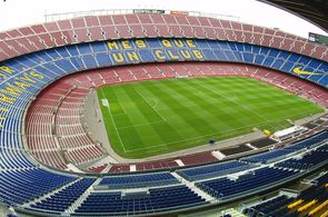 Stadion Camp Nou in Barceloba