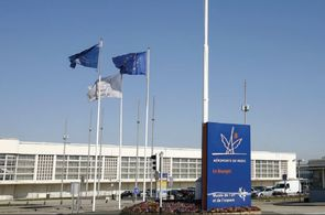 Privatjet Terminal am Flughafen Paris Le Bourget