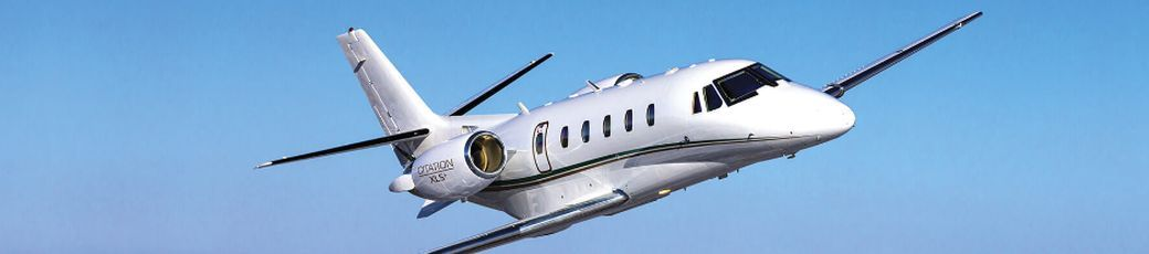 Privatjet Cessna Citation XLS im Flug