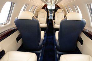 Kabine eines Cessna CitationJet CJ4