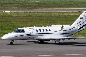 Cessna CitationJet CJ4 beim Rollen