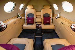 Kabine Cessna Citation Mustang