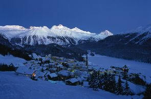 ENGADIN St. Moritz: Abendliche Stimmung