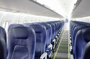 Charterflugzeug Embraer 175: Kabine