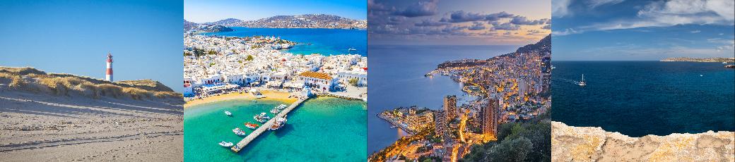 Egal ob Sylt, Monaco, Mykonos oder Mallorca: Mit einem Privatjet erreichen Sie jedes Reiseziel nonstop.