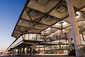 Terminal am Flughafen Malaga