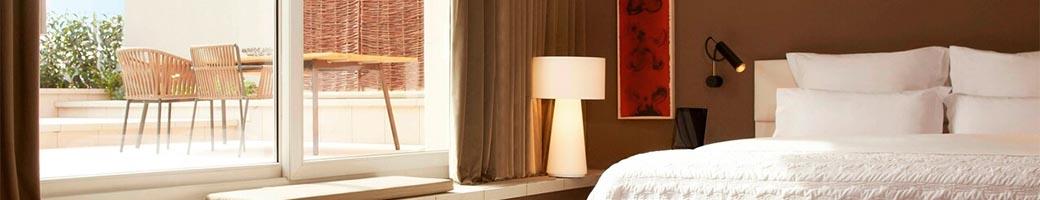 Zimmer des Hotels Le Meridien in Barcelona