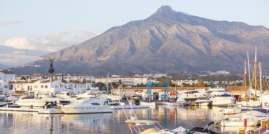 Hafen von Puerto Banus