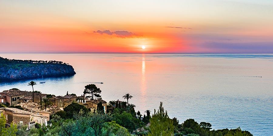 Abendliche Stimmung auf Mallorca