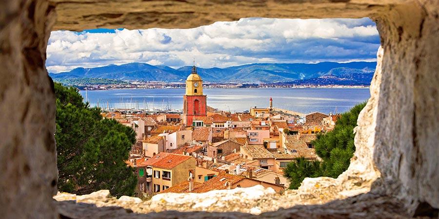 Blick auf St. Tropez