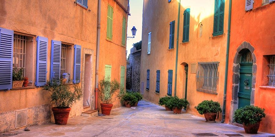 Gassen von St. Tropez